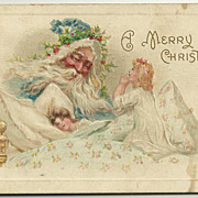 SALE 1910 Meeker Christmas Postcard Series Number 586
