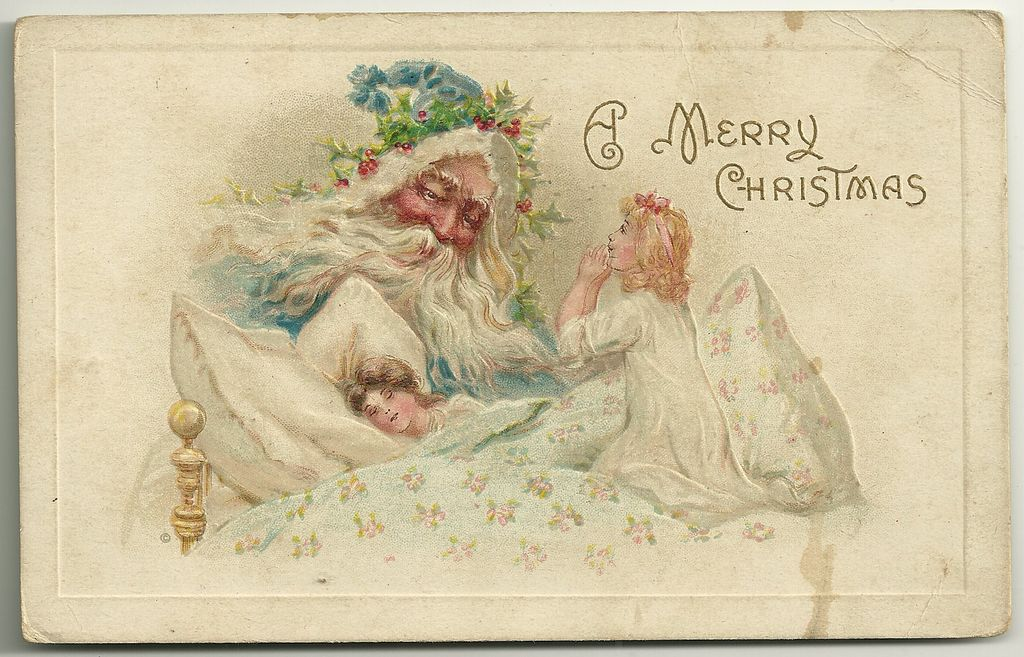 1910 Meeker Christmas Postcard Series Number 586