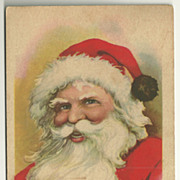 SALE 1921 Santa Postcard