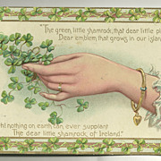 Tuck Shamrock Series 1910 Postcard