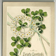 Shamrocks and Daisies Postcard