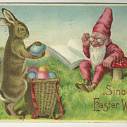 Easter Gnome Postcard