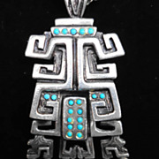 Salvador Teran Aztec/Mayan Necklace