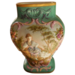 Rare G DeMartine Cie Limoges Hand Painted 1890's High Relief French Barbotine Vase