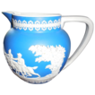 Wedgwood Jasperware Royal Blue Milk Pitcher
