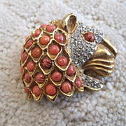 Kenneth Jane Lane Rhinestone Brooch