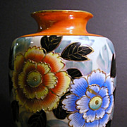 Large Luster Art  Deco Tashiro Shoten Vase