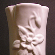 Van Briggle Pedestal Vase, Columbine