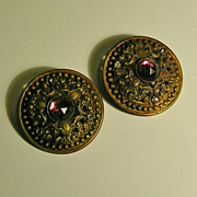 Victorian Coat/Cape Buttons � Exceptional Matching Pair