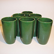 California Modern Retro Tumblers, Santa Anita Ware