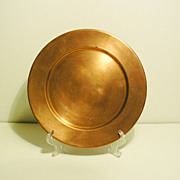SPRING Swiss Made Copper 9  Plate, Tray