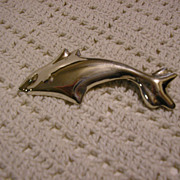 Mexico Taxco Sterling Dolphin Pin