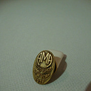 Automobile Manufacturers Association 1938 NY Show Lapel Button