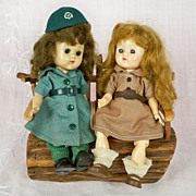 SOLD Vogue Ginny Girl Scout Walker 1950s-60s