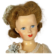 Tagged Monica of Hollywood 20 inch Composition Doll 1947