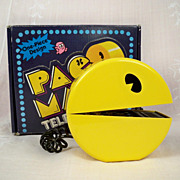 SOLD Working 1980 NMIB Pac-Man Telephone, Box, Inserts, Original Receipt