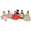 Early 1960s Little Women Lissy Set Plus Late 60s Laurie with Boxes, Tagged Outfits / Wrists, Madame Alexander 12 inch