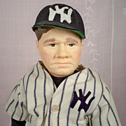 Babe Ruth New York Yankees 1985 Effanbee  7651. Perfect and Complete!