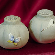 Japanese Banko Ware Salt and Pepper Shakers