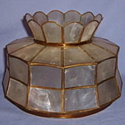 Capiz Shell Lamp Shade