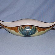SALE T&V Limoges Luster Bowl Handpainted France Artist Signed Warren