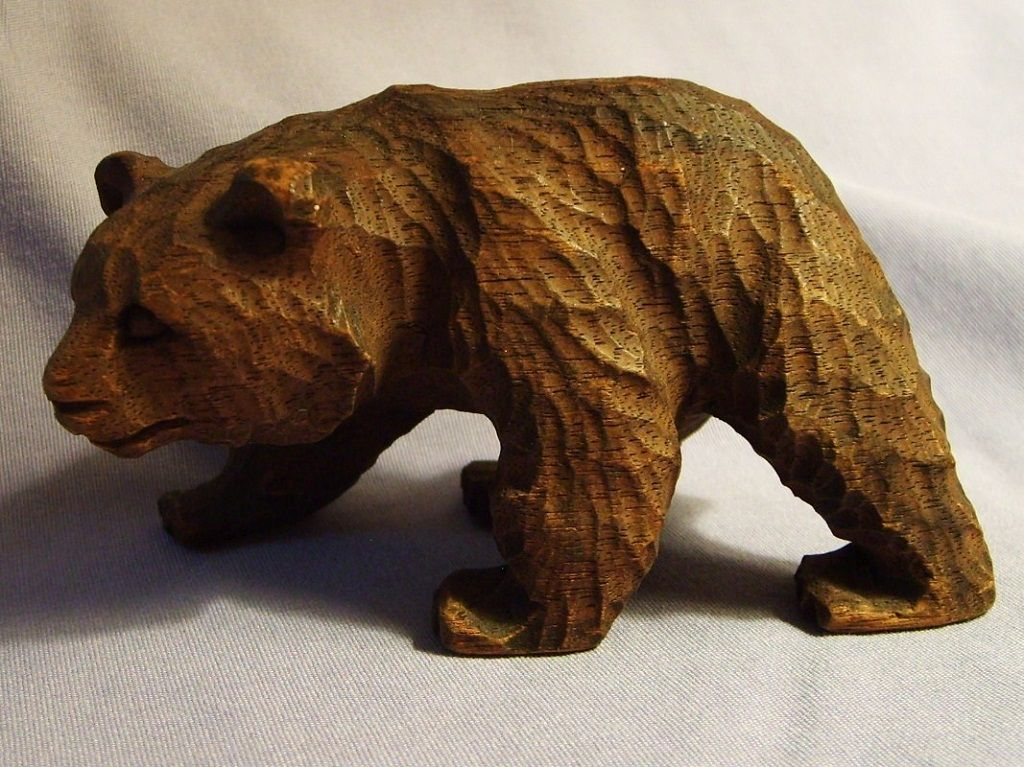 Wood carved bears driverlayer search engine