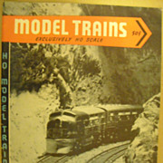 Model Trains HO scale 1953 May