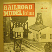 Railroad Model Craftsman model trains steam engines 1953 July