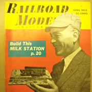 Railroad Model Craftsman train magazine 1955 April