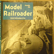 Model Railroader train magazine 1951 November
