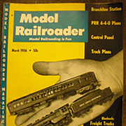 Model Railroader train magazine Gorre & Daphetid John Allen 1956 March