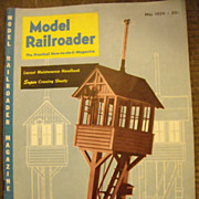 Model Railroader train magazine 1954 May