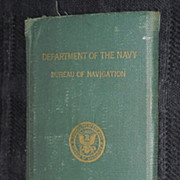 WWII,  World War United States Navy records paper military ephemera