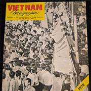 Vietnam War , Viet Nam Magazine 1970 elections Cold War
