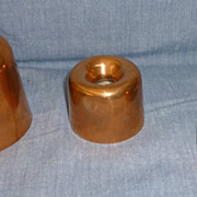 Set of three small molds