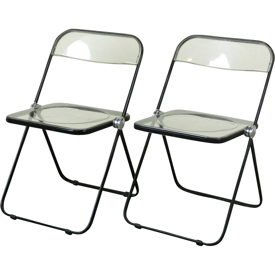 Vintage Lucite Folding Chairs images