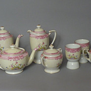 Rare early Morimura mark, Noritake Breakfast/Tea set  11 Piece