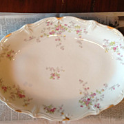 Limoges Depose large oval platter
