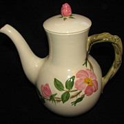 Desert Rose Coffeepot Franciscan
