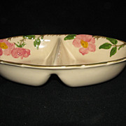 Franciscan Desert Rose Divided Vegetable Bowl