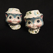 Lefton Miss Priss Salt and Pepper Shakers Cats