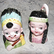 Vintage Indian Salt and Pepper set