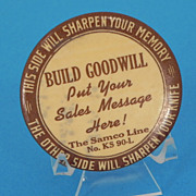 Build Goodwill Advertising Paperweight with Sharpening Stone