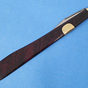 Clark Bros. Germany Letter Opener Knife