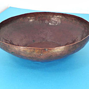 Copper Bowl, Handmade Copper Bowl - Made in Portland