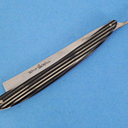 Curtin & Clark Cutlery Co., Celluloid Straight Razor