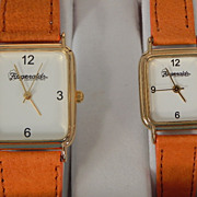 Fitzgeralds Boxed Set of His & Hers Quartz Wristwatches