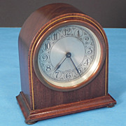 SOLD German Wood Shelf Clock Merschede