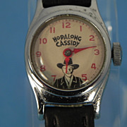 REDUCED Hopalong Cassidy Small Character Watch - U.S. Time Watch