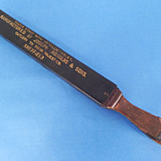 REDUCED Joseph Rodgers & Sons Sheffield Razor Strop
